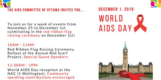 World AIDS Day Flag Raising and NAC Reception