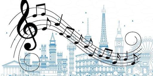 Concert:  Musical Journey Through Europe
