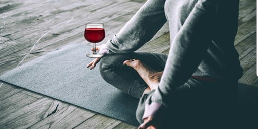 Un-Wine'd Over The Holidays A Yoga And Wine Social