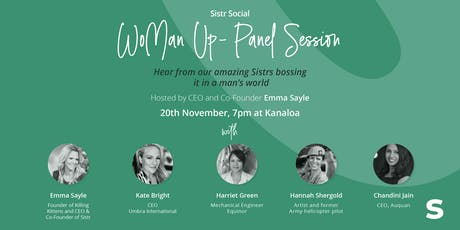 Sistr Social - WoMan Up! tickets