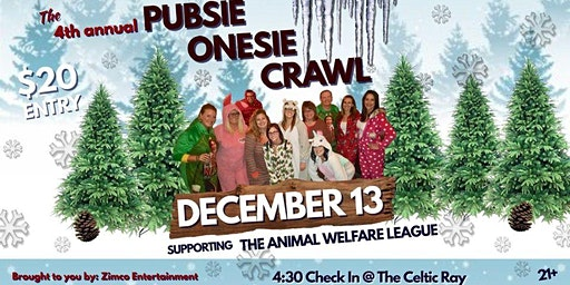 4th Annual Pubsie Onesie Crawl