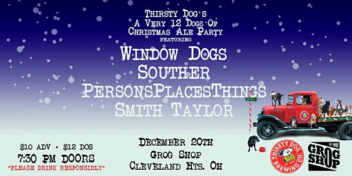 A Very 12 Dogs of Christmas Ale Party ft. Window Dogs