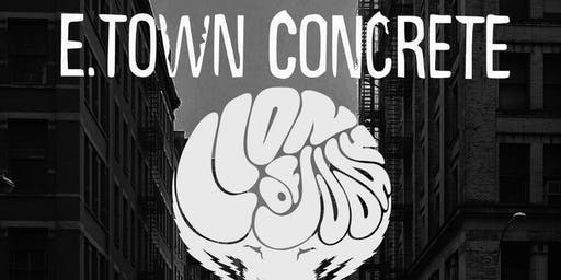 E-Town Concrete with Lion of Judah, Hangman, Combust