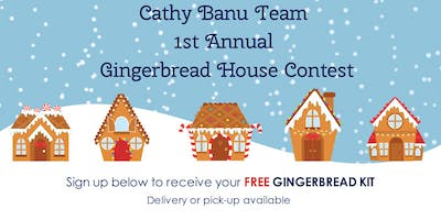 Cathy Banu Team's Gingerbread House Contest