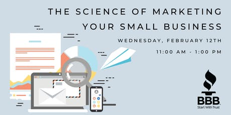The Science of Marketing Your Small Business tickets
