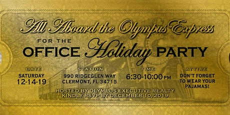 Olympus Express-Office Holiday Party tickets