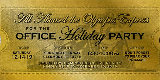 Olympus Express-Office Holiday Party
