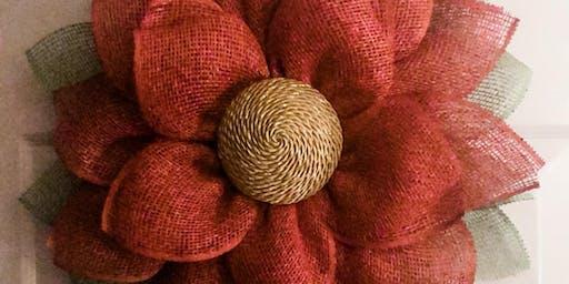 Poinsettia Wreath Class