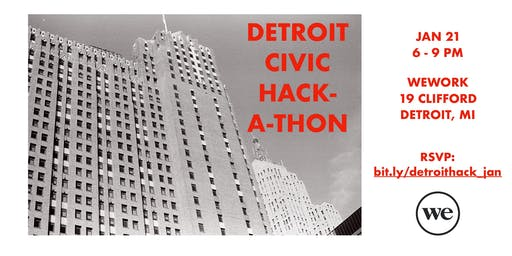 Detroit Civic Hackathon: January Edition