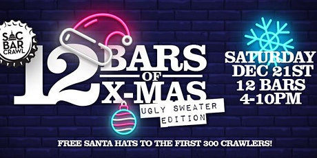 12 BARS OF X-MAS BAR CRAWL: UGLY SWEATER EDITION tickets