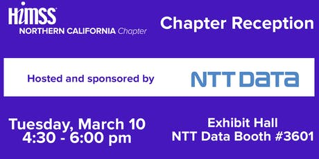 HIMSS20 NorCal Chapter Reception tickets
