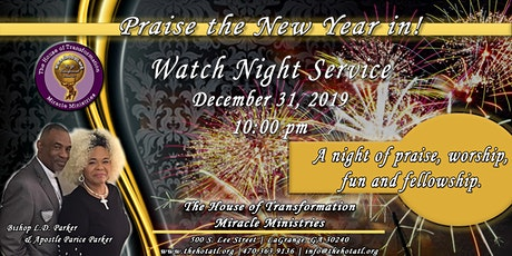 2019 Watch Night Service tickets