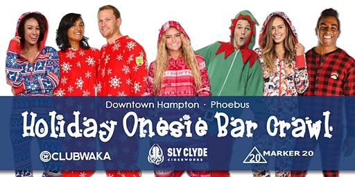 Hampton Holiday Onesie Bar Crawl