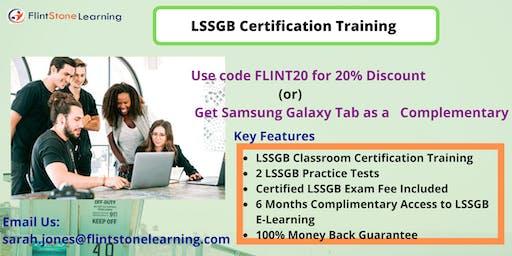 LSSGB Training in Anza, CA