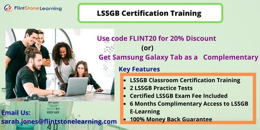 LSSGB Training in Applegate, CA