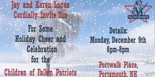 Children of Fallen Patriots Holiday Party