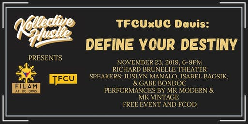 TFCUxDavis: Define Your Destiny