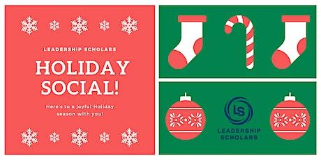 Leadership Scholars 2019 Holiday Social tickets