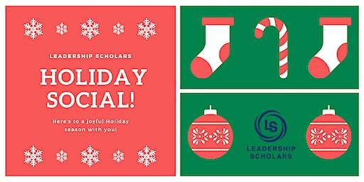 Leadership Scholars 2019 Holiday Social
