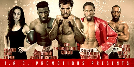 Fight Night 5: Back Live for Five tickets