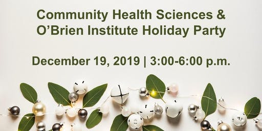 O'Brien Institute & CHS Holiday Party
