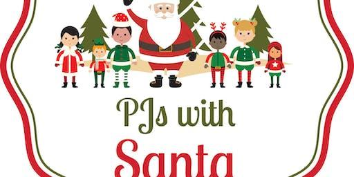 PJs with Santa