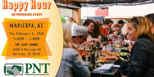 02/06/20 - PNT Maricopa Chapter - Happy Hour Small Business Networking Event