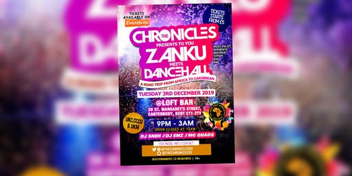 ZANKU MEETS DANCEHALL