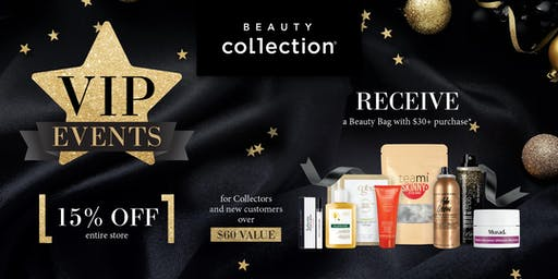 VIP event at Beauty Collection