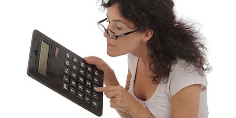 Entreprendre au féminin - Estimer son budget entreprise pour vivre de son activité billets