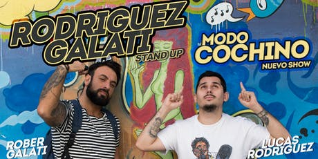 Rodriguez Galati - MODO COCHINO - Rosario (20 de Diciembre, 22:00hs) entradas