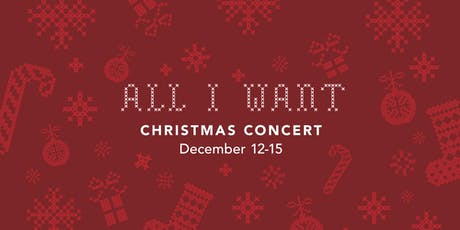 All I Want (Family Friendly Christmas Concert) tickets