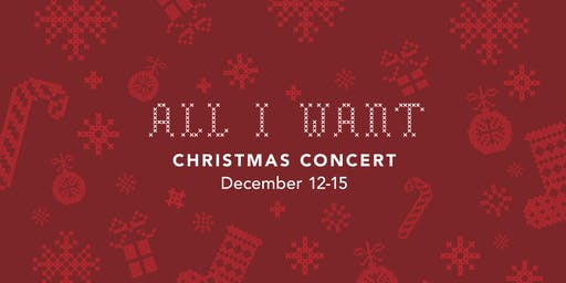 All I Want (Family Friendly Christmas Concert)