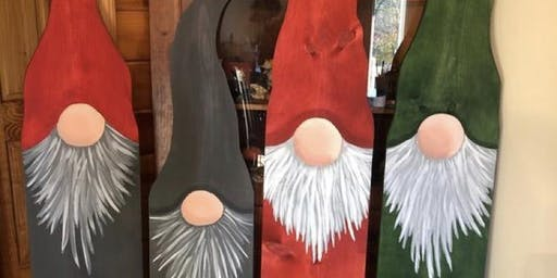 Wooden Porch Gnome