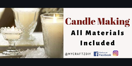 Holiday Candle Making tickets