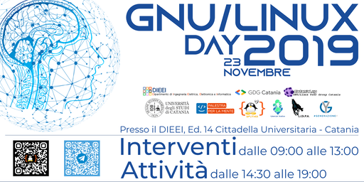 "Catania GNU/Linux Day 2019 ""Reloaded"""