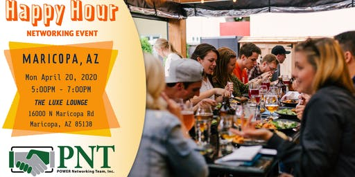 04/20/20 - PNT Maricopa Chapter - Happy Hour Small Business Networking Event