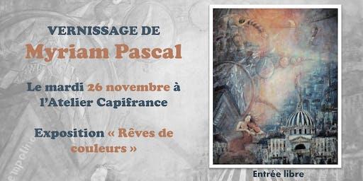 Vernissage de Myriam Pascal
