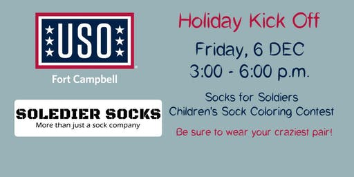 USO Holiday KICK OFF: Soledier Socks