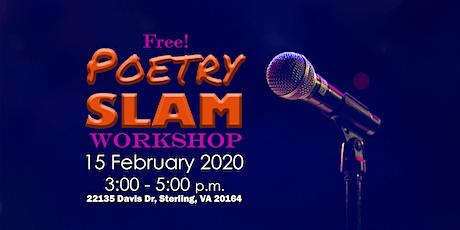 Poetry Slam Workshop tickets