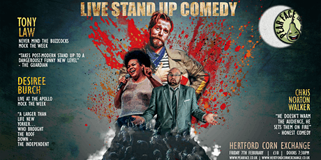 Live Stand up Comedy with Headliners Tony Law and Desiree Burch tickets