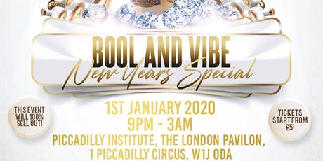 BOOL N VIBE - NEW YEARS DAY SPECIAL tickets