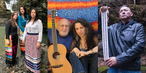 PETER & BETHANY YARROW BENEFIT CONCERT: Three Sisters Sovereignty Project