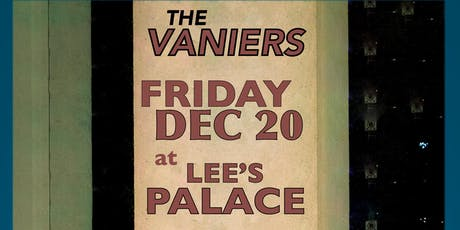 The Vaniers, The Lookout Service, Seekers Peak tickets