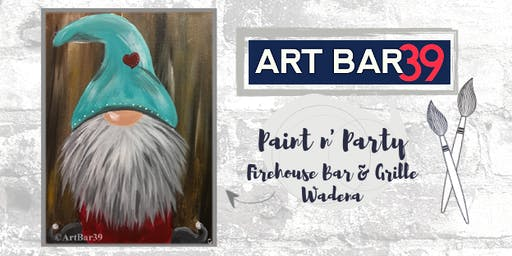 Wadena Public Event | Art Bar 39 Paint & Sip | Gnome