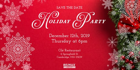 Save The Date: Holiday Party 2019 tickets