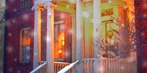 Candle Light Tours: Ten Broeck Mansion Holiday House 2019