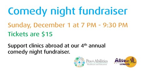 POS+ABILITIES - Comedy Night tickets