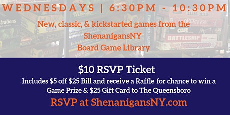 Jackson Heights Board Game Night tickets