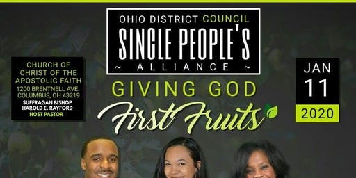 ODC Single People's Alliance - January 2020 Council Meeting and Luncheon